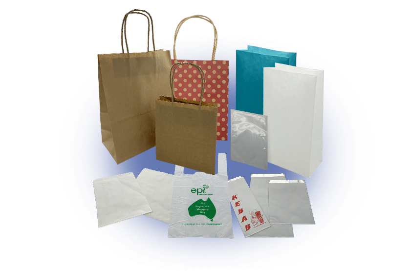 Paper, Plastic and Foil Bags